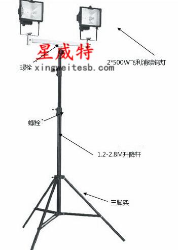 T-SFW6140B便xie式shengjiang工作灯